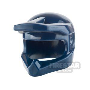 Product shot LEGO - Dirt Bike Helmet - Dark Blue