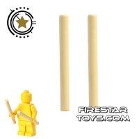 Product shot LEGO - Drumsticks Pair - Tan