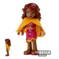 Product shot LEGO Elves Mini Figure - Azari Firedancer with Cape