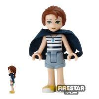 Product shot LEGO Elves Mini Figure - Emily Jones with Cape