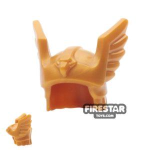 Product shot LEGO - Flying Warrior Winged Helmet