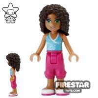 Product shot LEGO Friends Mini Figure - Andrea - Cropped Trousers