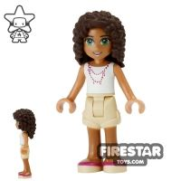 Product shot LEGO Friends Mini Figure - Andrea with Music Note Necklace