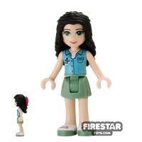 Product shot LEGO Friends Mini Figure - Emma - Ambulance Top