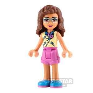 Product shot LEGO Friends Mia Sand Green Skirt