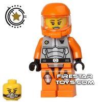 Product shot LEGO Galaxy Squad Mini Figure - Ashlee Starstrider