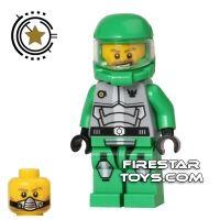Product shot LEGO Galaxy Squad Mini Figure - Chuck Stonebreaker