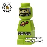 Product shot LEGO Games Microfig - Lunar Command Green