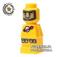 Product shot LEGO Games Microfig - Lunar Command Yellow
