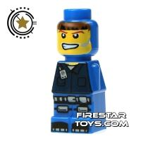 Product shot LEGO Games Microfig - Magma Monster Blue
