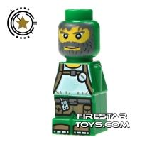 Product shot LEGO Games Microfig - Magma Monster Green