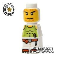 Product shot LEGO Games Microfig - Magma Monster White
