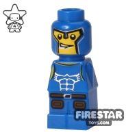 Product shot LEGO Games Microfig - Minotaurus Gladiator - Blue