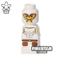 Product shot LEGO Games Microfig - Minotaurus Gladiator - White