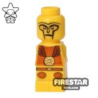 Product shot LEGO Games Microfig - Minotaurus Gladiator - Yellow