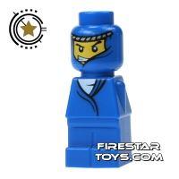 Product shot LEGO Games Microfig - Orient Bazaar Merchant Blue