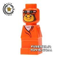 Product shot LEGO Games Microfig - Orient Bazaar Merchant Orange