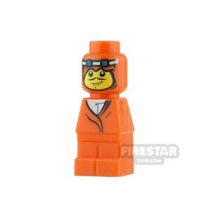 Product shot LEGO Games Microfig - Ramses Pyramid Adventurer - Orange