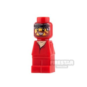 Product shot LEGO Games Microfig - Ramses Pyramid Adventurer - Red
