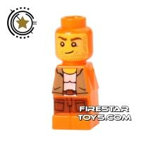 Product shot LEGO Games Microfig - Ramses Return Adventurer - Orange