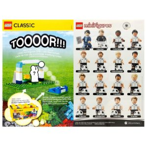 Product shot LEGO German Football Team Collectable Leaflet