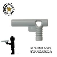 Product shot LEGO Gun - Handgun - Gray