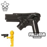 Product shot LEGO Gun - Kryptonian Laser Gun - Pearl Dark Gray