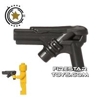 Product shot LEGO Gun - Kryptonian Lazer Gun - Pearl Dark Gray