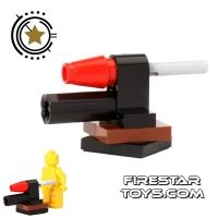 Product shot LEGO Gun - Missile Launcher