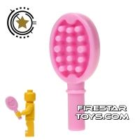 Product shot LEGO - Hair Brush - Bright Pink