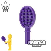 Product shot LEGO - Hair Brush - Dark Purple