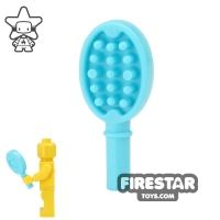 Product shot LEGO - Hair Brush - Medium Azure