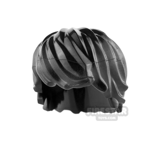 Product shot LEGO Hair - Choppy - Black