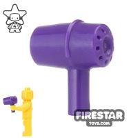 Product shot LEGO - Hair Dryer - Dark Purple