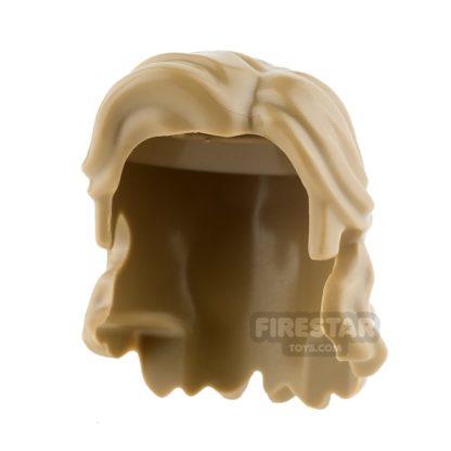 Product shot LEGO Hair Mid Length Wavy