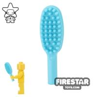 Product shot LEGO - Hairbrush - Medium Azure