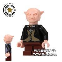 Product shot LEGO Harry Potter Mini Figure -  Goblin - Brown Legs