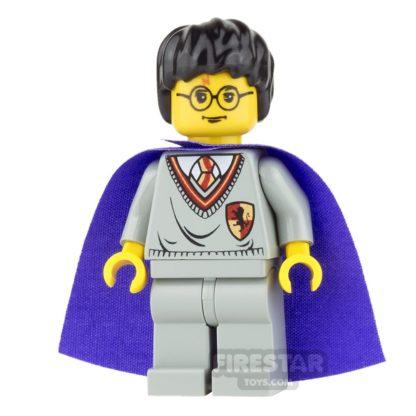 Product shot LEGO Harry Potter Mini Figure - Harry - Violet Cape