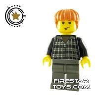Product shot LEGO Harry Potter Mini Figure -  Ron Weasley