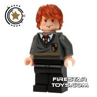Product shot LEGO Harry Potter Mini Figure -  Ron Weasley Black Legs