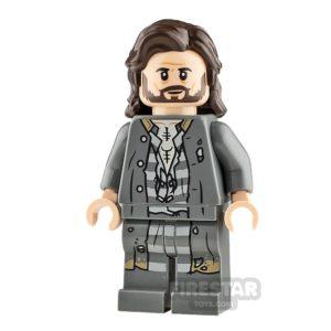 Product shot LEGO Harry Potter Minifigure Sirius Black Printed Legs