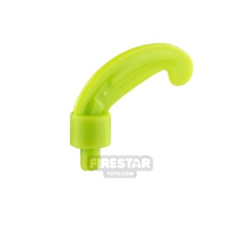 Product shot LEGO - Helmet Plume Small Feather - Lime