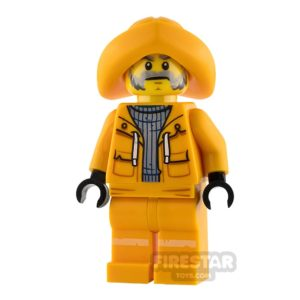 Product shot LEGO Hidden Side Minifigure Captain Jonas