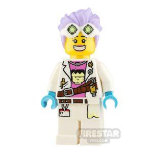 Product shot LEGO Hidden Side Minifigure J.B. Watt Smile and Annoyed