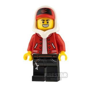 Product shot LEGO Hidden Side Minifigure Jack Davids Smile and Angry