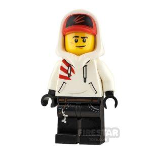 Product shot LEGO Hidden Side Minifigure Jack Davids Smile and Scared