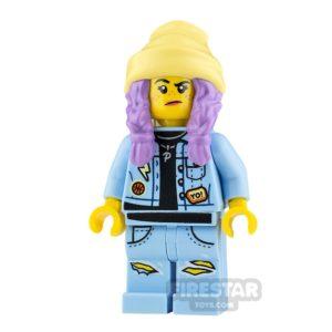 Product shot LEGO Hidden Side Minifigure Parker L. Jackson Smile and Grumpy