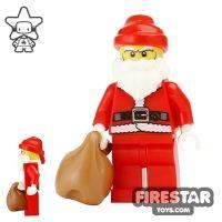 Product shot LEGO Holiday Mini Figure - Santa - Father Christmas