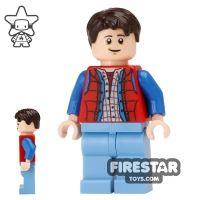 Product shot LEGO Ideas - Back to the Future Marty McFly