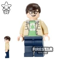 Product shot LEGO Ideas - The Big Bang Theory - Leonard Hofstadter